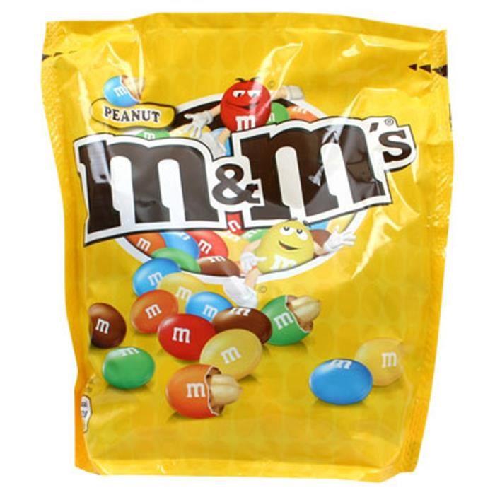 M&M's Peanut (lot de 4)