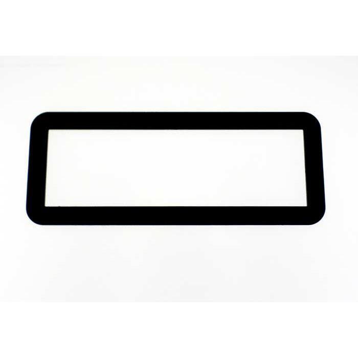 Adaptateur de façade d'autoradio simple DIN Universel noir Universel
