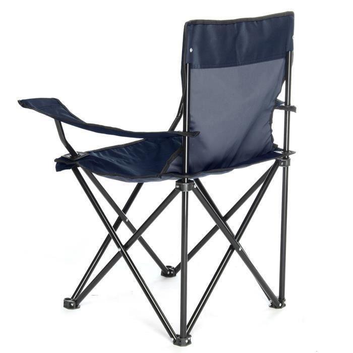 Pliable Chaise Fauteuil Pr Camping Pêche Plage Jardin Marine Me45857