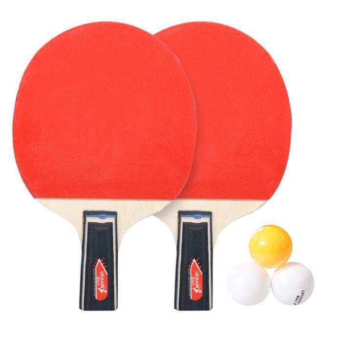 1 pc Durable Tennis De Table Raquette Ping Pong Rack Bat Kit pour RAQUETTE DE TENNIS DE TABLE - CADRE DE TENNIS DE TABLE
