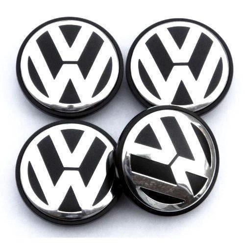 Replacement Caches Enjoliveur Moyeu de Roue 65mm Diamètre pour Volkswagen