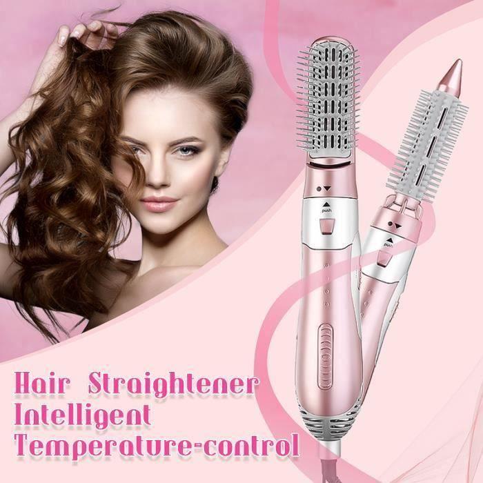 TEMPSA brosse lissante - Peigne Electrique - Sèche-Cheveux Set - Fer A Friser 1200W multifonction