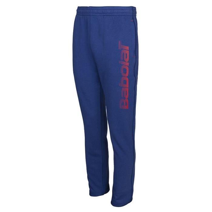 BABOLAT - BABOLAT CORE SWEAT PANT BIG L BOY - 3BS17132253 - Pantalons TENNIS BLEU - (08-10 ANS)