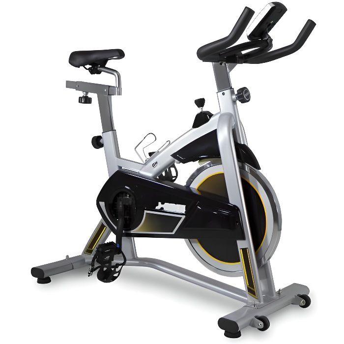 BH FITNESS Velo Biking spinning MKT J BIKE-volant d'inertie 18 kg