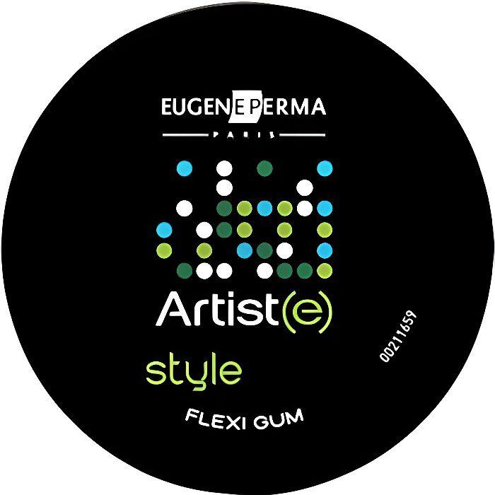 Eugène Perma, Gomme modelante Flexi Gum Artist(e) 75ml, Coiffant Cheveux Pâte Effet Fixant