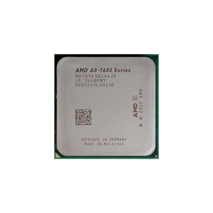 Amd A8 Series A8 7650K Cpu Fm2 + 3,3 Ghz Processeur de bureau pour ordinateur de bureau Carte graphique Carte graphique (utilisé /