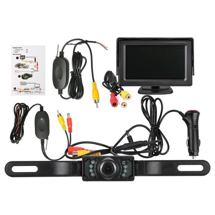 Kit de système de caméra de recul sans fil