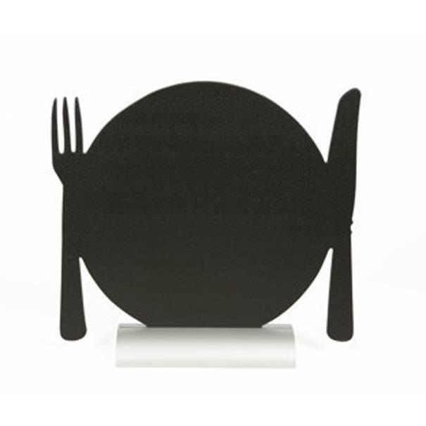 Silhouette de table avec socle aluminium ASSIETTE