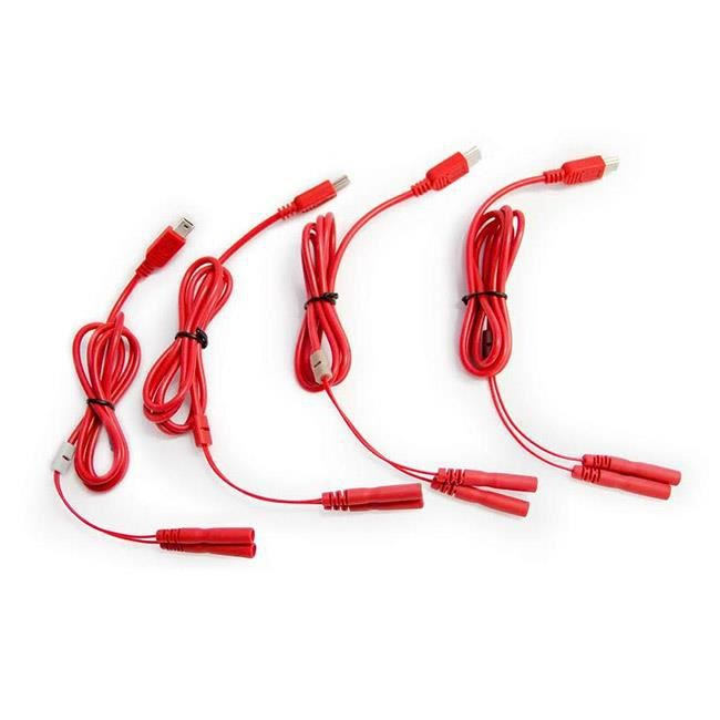 Pack connectique multisport avec 8 électrodes Sport-Elec Electrostimulation