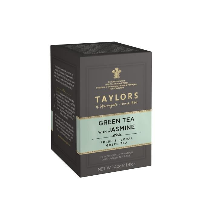 TAYLORS Thé Vert au Jasmin - 20 sachets - 40 g