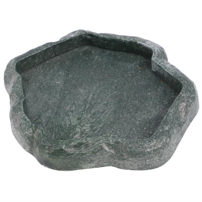 1 Pc Rock Bowl Ramping Pet Durable Portable Reptile Alimentaire Bassin De Stockage L'eau pour Petit Animal BASSIN POUR ANIMAL