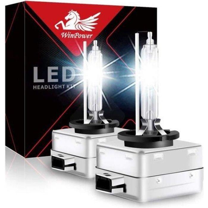 D3S D3R Ampoule Xénon Feu HID Phare Winpower Lampe Remplacement 35W 6000K pour Audi/BMW/Chevrolet/Chrysler/Citroen Lot de 2pcs