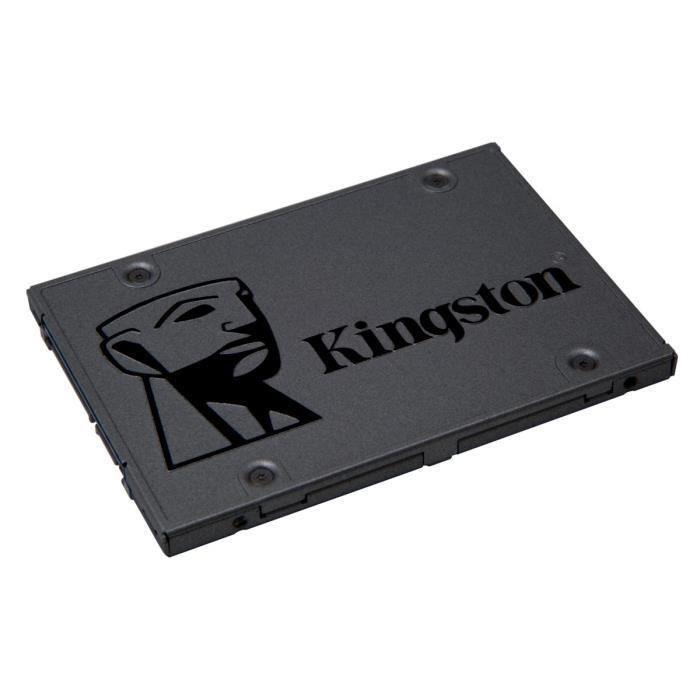 """DISQUE DUR SSD KINGSTON SSD A400 - 240 Go - 2.5"""" - SA400S37/240G"""