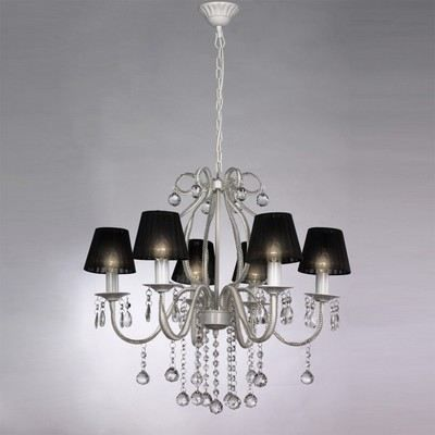 lustre baroque plafonnier 6 lampes 2300 pampill achat. Black Bedroom Furniture Sets. Home Design Ideas