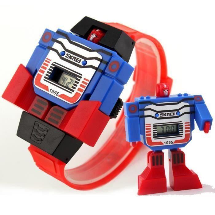 Jouets pour garçons 2 IN1 transformateur Robot Télécommande Voiture Camion Kids 3 Cadeau De Noël