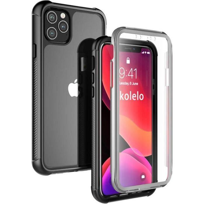 Inkolelo Coque iPhone 11 Pro Max (6.5'') 360 degrés Protection ...