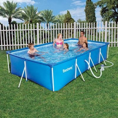 piscine tubulaire enfant bestway splash frame achat. Black Bedroom Furniture Sets. Home Design Ideas