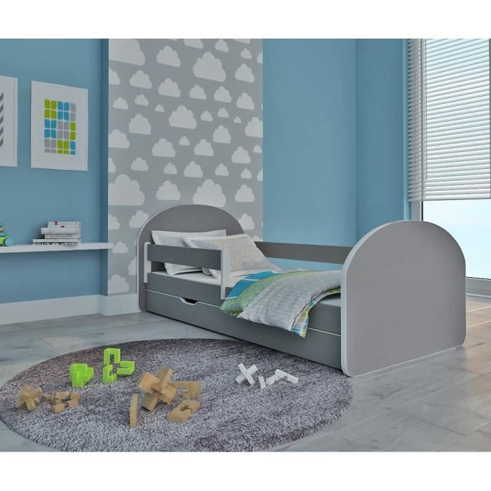lit enfant 80x160 achat vente lit enfant 80x160 pas cher cdiscount. Black Bedroom Furniture Sets. Home Design Ideas
