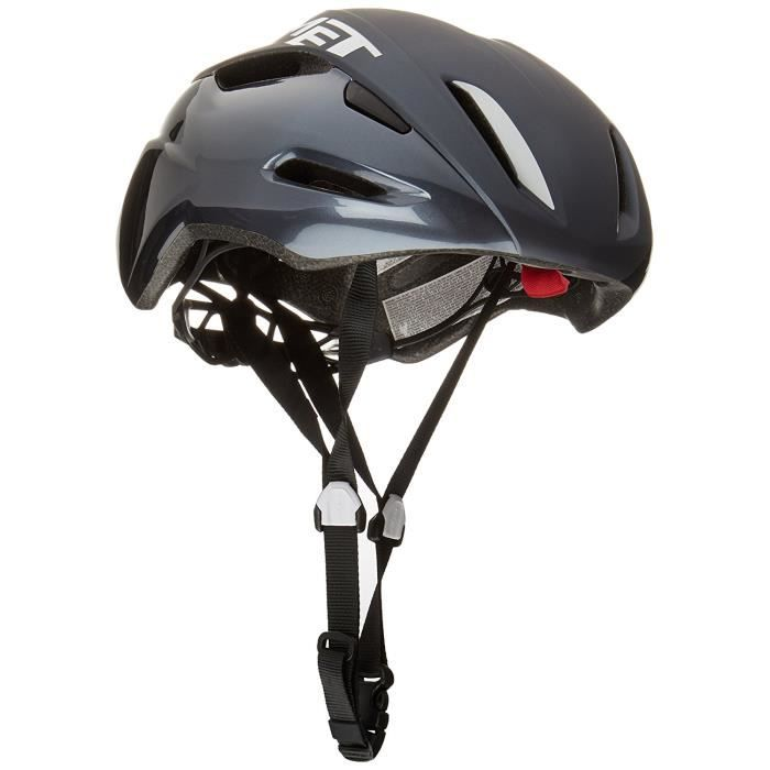 CASQUE DE VÉLO MET Casque de Vélo - MANTA noir-blanc Taille: 54-5
