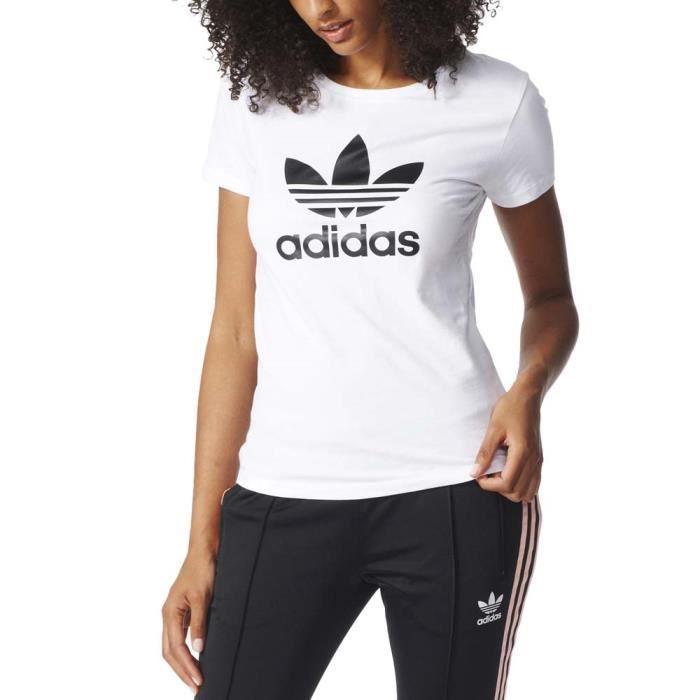 t shirt adidas original femme