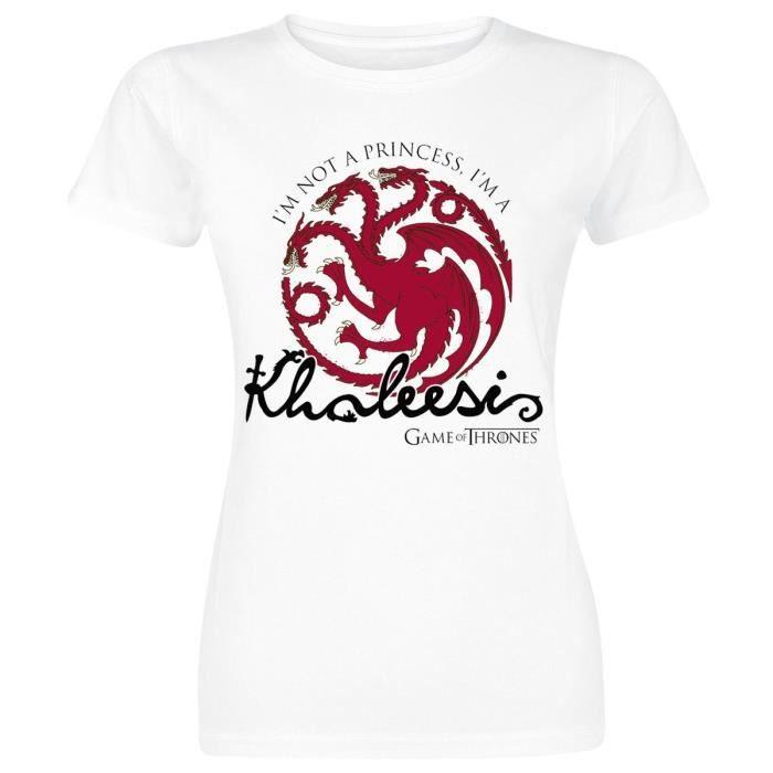 T-SHIRT Game Of Thrones Daenerys Targaryen - Khaleesi T-Sh