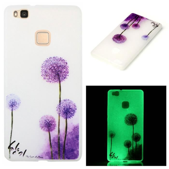 coque violet huawei p9