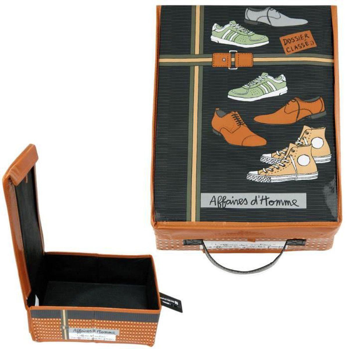 Porte Chaussure Derriere Porte boîte à chaussures grandes pompes pliable - de rangement