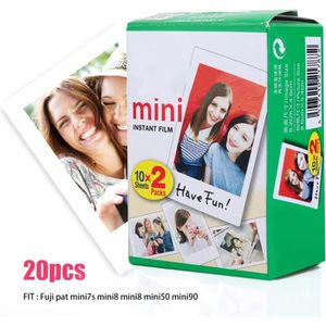 APP. PHOTO INSTANTANE 20pcs Papier photo film instax mini pour Fuji Inst
