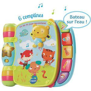 LIVRE INTERACTIF ENFANT 166755 - Jouet Musical - Do, Ré, Mi Super Livre En