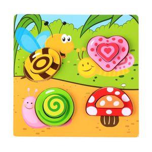 PUZZLE Puzzle en bois Jouet coloré Puzzle 0-1-2-3-6 ans j