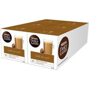 CAFÉ CD-44Nescafe Dolce Gusto café au lait 96 capsules