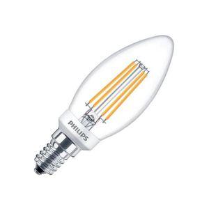 AMPOULE - LED Ampoule LED E14 Dimmable Filament Philips Candle C