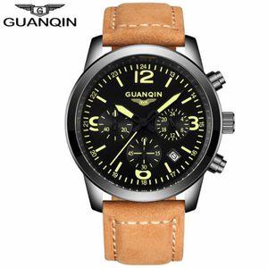 MONTRE GUANQIN GS19037 Chronographe Automatique Date Homm