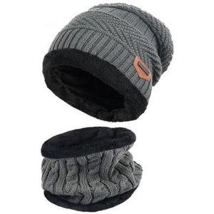 ELECTRI Unisex Tour de Cou Bonnet Tricot Cache Cou Chapeau de Ski /Épais Echarpe Snood Tricot/ée Tube /Écharpe Tubulaire