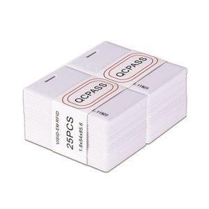 LECTEUR - GRAVEUR EXT. Carte d'Identité NFC ID Lot de 25 Pièces RF Cartes