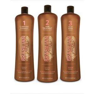 DÉFRISAGE - LISSAGE Brasil Cacau Hair Séduction 3*1L