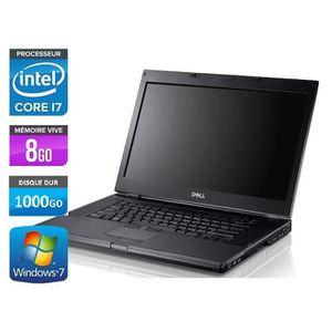 ORDINATEUR PORTABLE Dell Latitude E6410 - Core i7 -8Go -1000Go - Webca