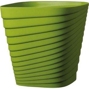 JARDINIÈRE - BAC A FLEUR DEROMA Pot Slinky - Carré - 30 x 30 x H 30 cm- 17,