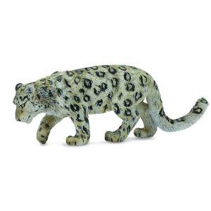 Figurine De Léopard Des Neiges Papo Leopard Snow Figure Animal 4 Inch