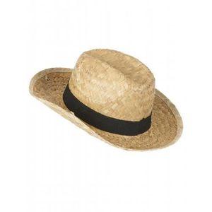 CHAPEAU - PERRUQUE Chapeau cowboy en paille enfant