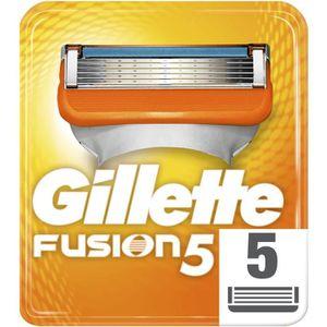RASOIR MÉCANIQUE Lames de rasoir x 5 Gillette Fusion
