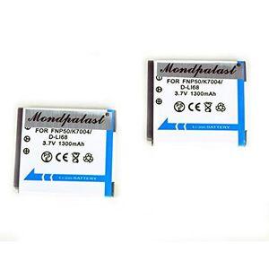 BATTERIE APPAREIL PHOTO 2x Batterie NP50 + chargeur pour Fujifilm X10 X20