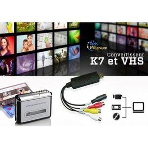 CARTE D'ACQUISITION  Convertisseur VHS DVD Movttek® Enregistreur audio-