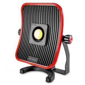 LAMPE DE CHANTIER Lampe de chantier FLOW LED 50 W + batterie 6h d au