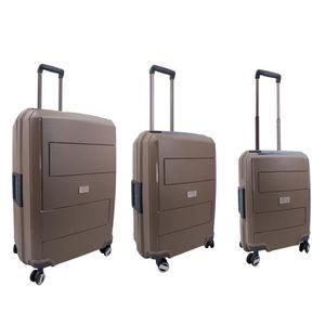 SET DE VALISES Set de 3 valise 4 roulettes 100% Polypropylène New