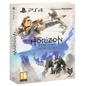 JEU PS4 horizon zero dawn ps4