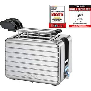 Proficook PC-Taz 1110 501110 Acier inoxydable grille-pain En Acier Inoxydable Boîtier 1050 W