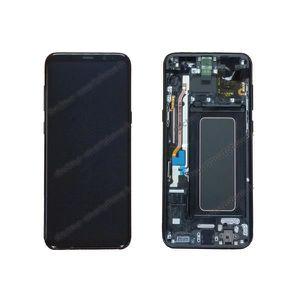 PIÈCE TÉLÉPHONE Écran Samsung Galaxy S8 PLUS noir d'origine SM-G95