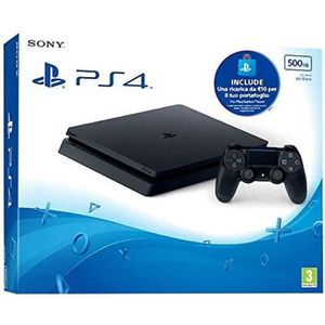 CONSOLE PS4 CONSOLE SONY PS4 SLIM 500GB+ PSN CARD 10 EUR