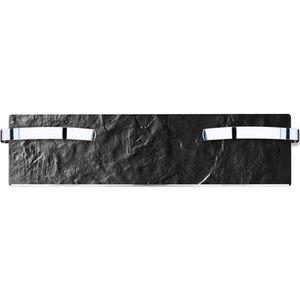 SÈCHE-SERVIETTE ÉLECT Sèche-serviette rayonnant SLIM ardoise noire 500W